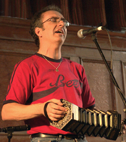 Brian Peters, Squeezebox Man