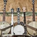 2000 National Guitar, 1950s Gibson RB-100 5-string banjo